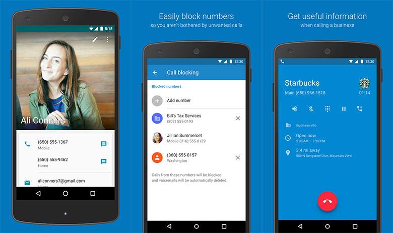 Aplikacja Google Telefon (Google Phone Dialer) nie tylko dla