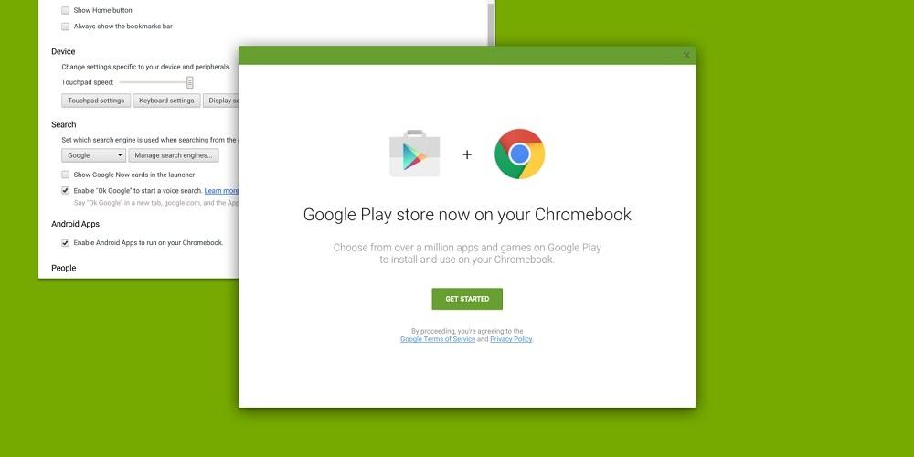 google play chromebook