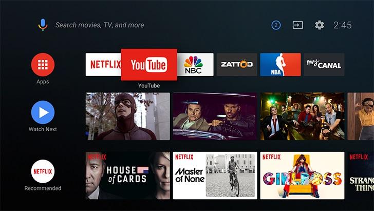 """Android TV ma """"dziesiątki milionów"""" użytkowników."""