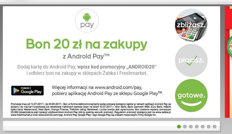 20 Złotych Na Zakupy W Sklepach żabka I Freshmarket Z Kodem Android