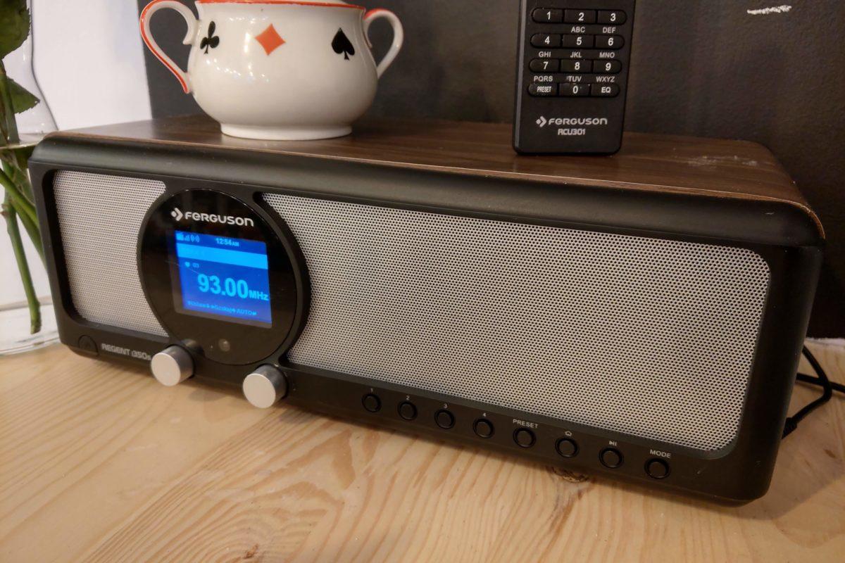 Radio internetowe Ferguson Regent i350s sterowane z androida – recenzja.