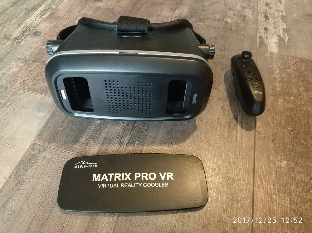 Gogle Media Tech Matrix Pro VR.