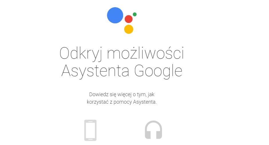 Asystent Google oficjalnie w Polsce.