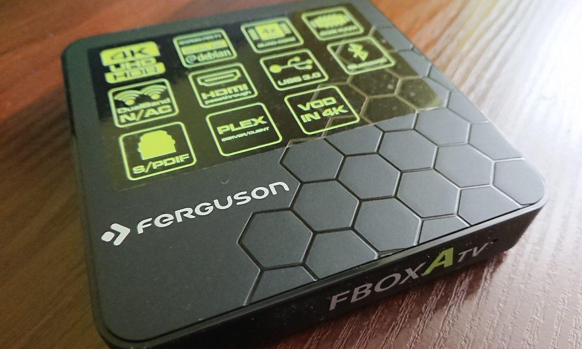 Recenzja przystawki Ferguson FboxATV – pozytywna przesiadka z Chromecast.