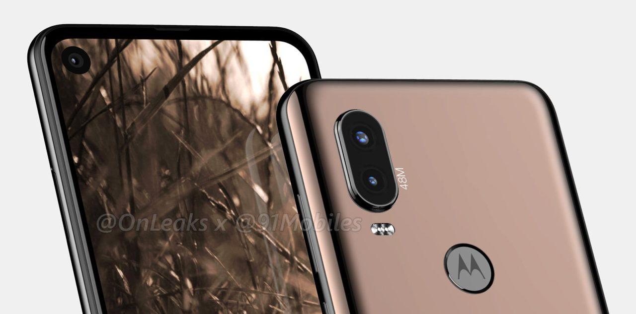Smartfon Motorola P40 - rendery i wideo 360.