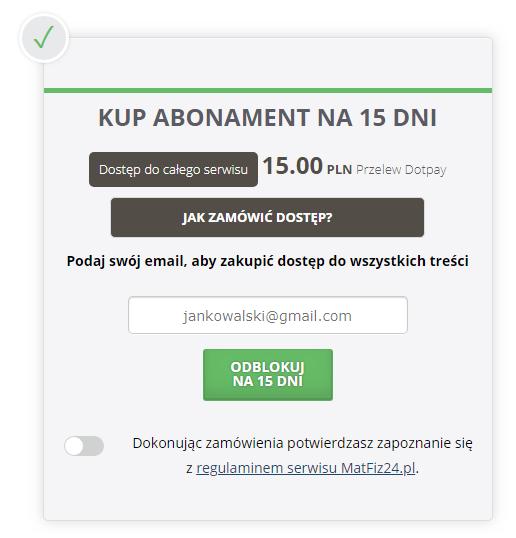okno płatności fast micro pay pod przeglądarką