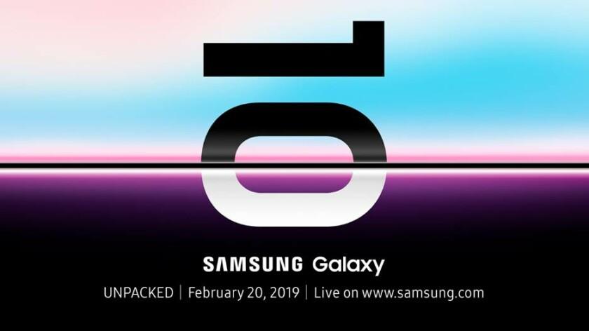 Składanego smartfona Samsunga i Galaxy S10 zobaczymy wcześniej niż spodziewano się.