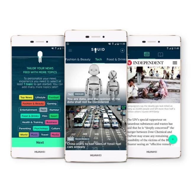 SQUID Learning English - Darmowe narzędzie do nauki języka angielskiego na android