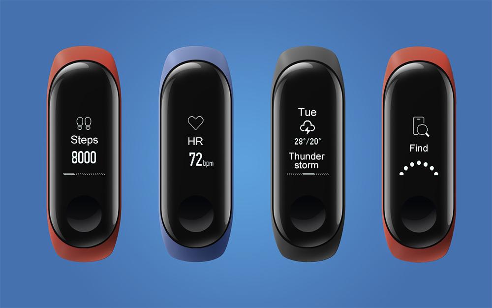 Xiaomi Mi Band 3 z kodem rabatowym.